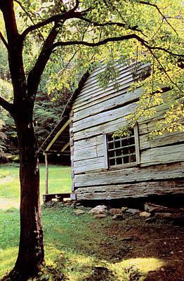 Photograph - Ogle Cabin by Alan Lenk