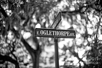 Photograph - Oglethorpe Avenue by John Rizzuto