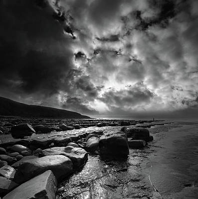 Photograph - Ogmore By Sea 4 by Phil Fitzsimmons