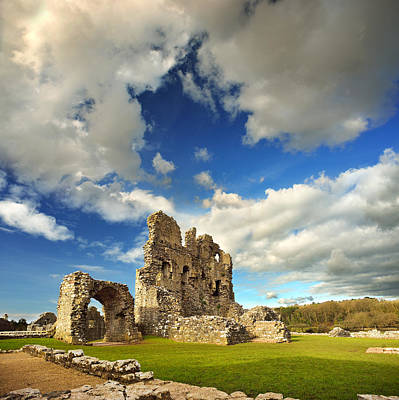Photograph - Ogmore Castle 1 by Phil Fitzsimmons