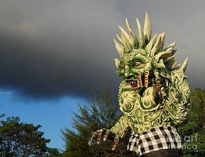 Asia Photograph - Ogoh-ogoh Festival Bali Monster by Timea Mazug