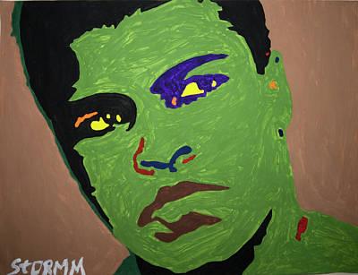 Painting - Ogun Ali by Stormm Bradshaw