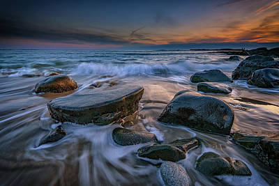 Photograph - Ogunquit On The Rocks by Rick Berk