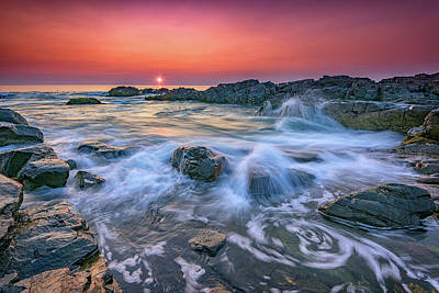 Photograph - Ogunquit Sunrise by Rick Berk