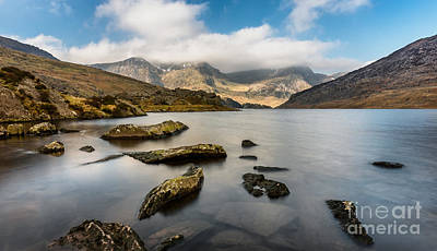 Photograph - Ogwen Lake Wales by Adrian Evans