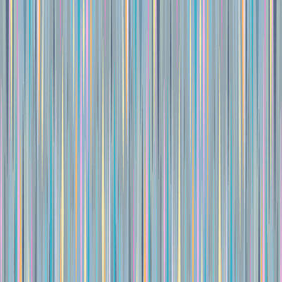Digital Art - Oh Baby Blue - Stripes by Val Arie
