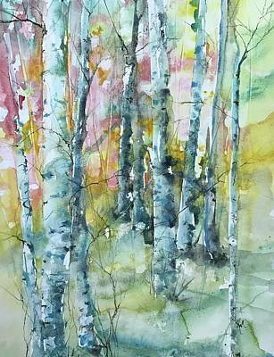 Painting - Oh Be Joyful Series  by Robin Miller-Bookhout