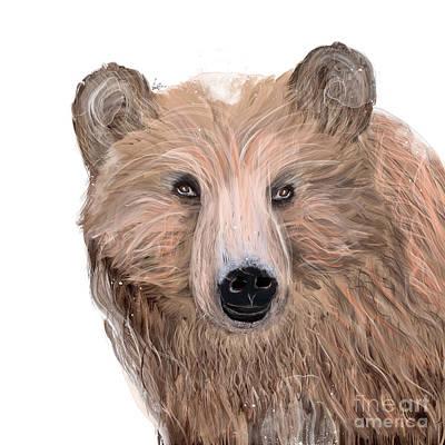 Painting - Oh Bear by Bleu Bri