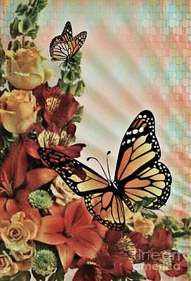 Photograph - Oh Beautiful Butterfly by Maria Urso