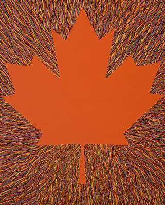 Curated Beach Towels - Oh Canada 5 by Kyung Hee Hogg