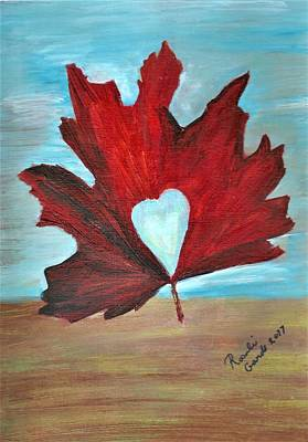 Miles Davis - Oh Canada, Sealed with a Heart Kiss by Rosalie Garde