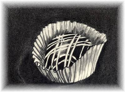 Drawing - Oh Chocolate by Penny Everhart