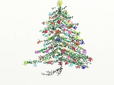 Painting - Oh Christmas Tree by Carol Berning