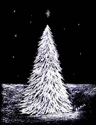 Oh Christmas Tree Art Print by Diane Frick