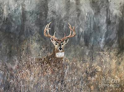 Painting - Oh Dear Its Buck Naked by Heather McKenzie