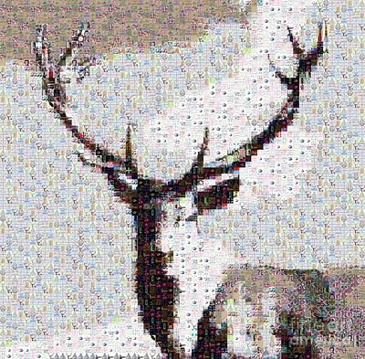 Oh Deer.. It's Awfully British  Art Print