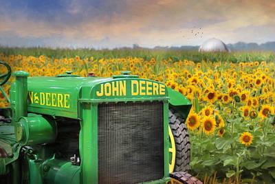 Oh Deere Art Print by Lori Deiter