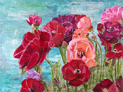 Painting - Oh, Giant Tecolote Ranunculus by Darla Nyren