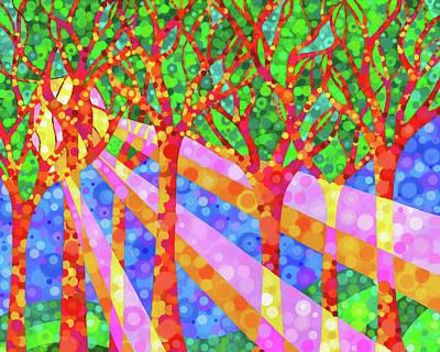 Digital Art - Oh Happy Day by Jennifer Allison