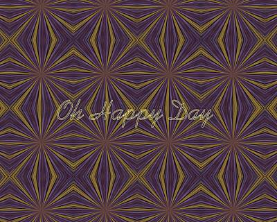 Wall Art - Digital Art - Oh Happy Day by Linda Heberling