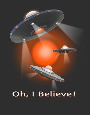 Oh I Believe  Se Art Print by Mike McGlothlen