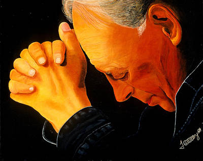 Painting - Oh Lord Hear Our Prayer by JoeRay Kelley