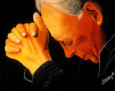 Oh Lord Hear Our Prayer Art Print by JoeRay Kelley