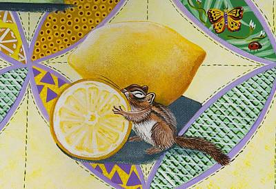 Painting - Oh My The Lemon by Jennifer Lake