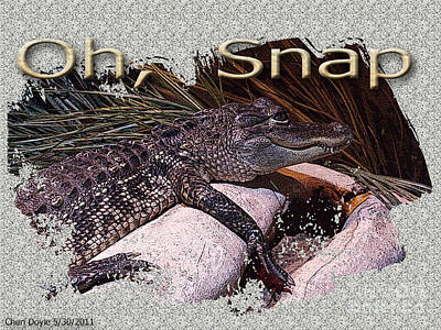 Digital Art - Oh Snap by Cheri Doyle