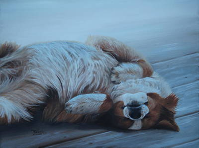 Painting - Oh Sweet Sleep by Tammy Taylor