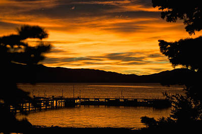 Photograph - Oh Tahoe Glow by Steven Lapkin