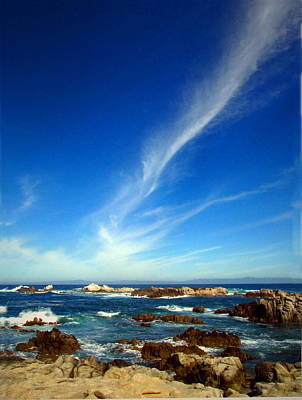Photograph - Oh The Beauty  Monterey Peninsula Ca  by Joyce Dickens