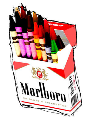 Oh These Arnt Cigarettes Just Crayons Original