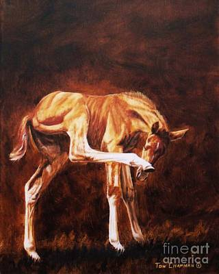 Kentucky Painting - Oh Yeah, That's The Spot by Tom Chapman