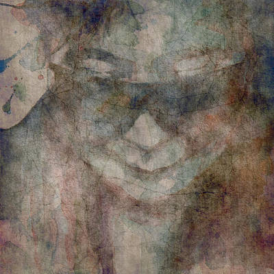Songwriter Digital Art - Oh Yoko Porcelain  by Paul Lovering