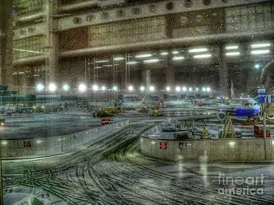 Photograph - O'hare Winter by David Bearden