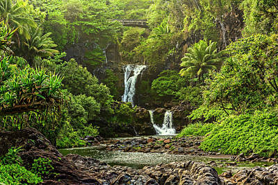 Photograph - Ohe'o Gulch by Kelley King