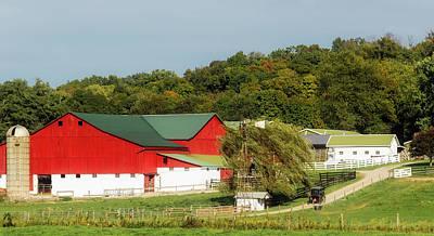 Photograph - Ohio Amish Farm by Mountain Dreams