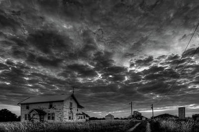 Photograph - Ohio Farm Bw by Patrick Groleau