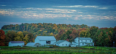 Photograph - Ohio Farm by David Waldrop