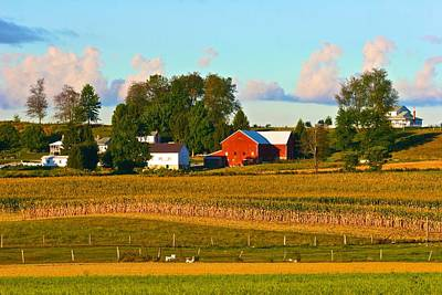 Photograph - Ohio Farm by Polly Castor