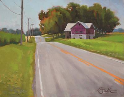 Ohio Painting - Ohio Farm by Todd Baxter