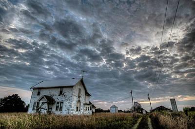 Digital Art - Ohio Farm Two by Patrick Groleau