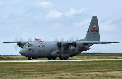 C-130 Wall Art - Photograph - Ohio Herc by Peter Chilelli