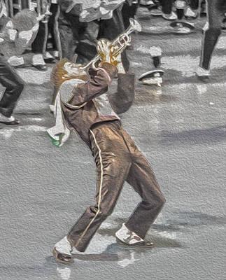 Spats Photograph - Ohio Music Man by Tom Gari Gallery-Three-Photography