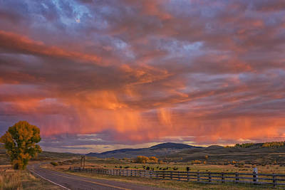 Photograph - Ohio Pass Colorado Sunset Dsc07578 by Greg Kluempers