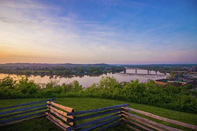 Photograph - Ohio River From Boreman by Jonny D