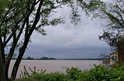 Evansville Photograph - Ohio River by Sandy Keeton
