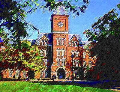 Painting - Ohio State University  by DJ Fessenden
