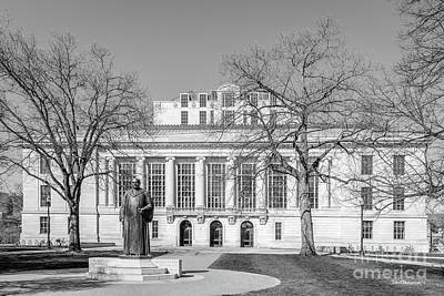Photograph - Ohio State University Thompson Library by University Icons
